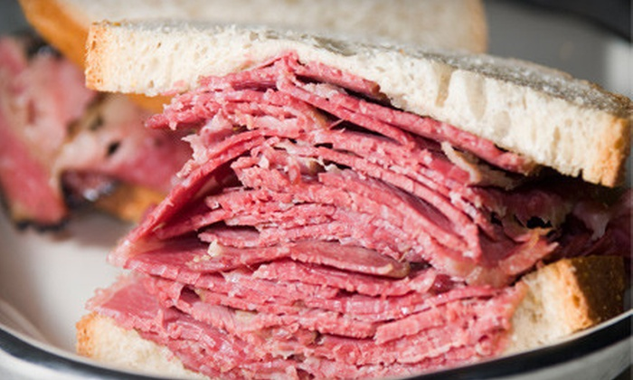 Sam's Kosher Style Restaurant & Deli - Orangevale: $12 for $25 Worth of Deli Fare at Sam's Kosher Style Restaurant & Deli in Fair Oaks