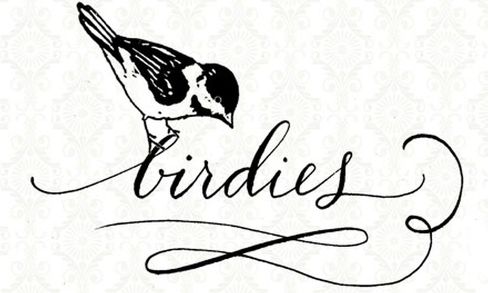 Birdies - Crossroads: $99 for a Six-Month Panty of the Month Club Membership from Birdies