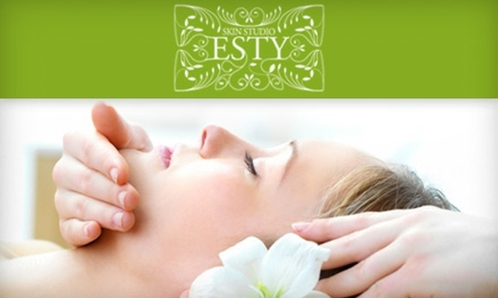 Esty Skin Studio - Central East Austin: $127 for Three Customized Chemical Peels at Esty Skin Studio ($255 Value)