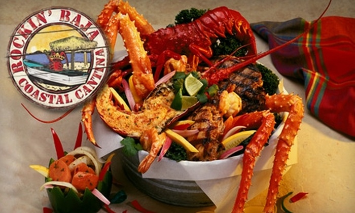 Rockin' Baja Coastal Cantina - Huntington Beach: $15 for $30 Worth of Mexican Fare and Drinks at Rockin' Baja Coastal Cantina in Huntington Beach