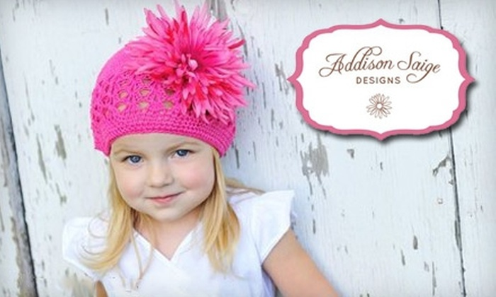 Addison Saige Designs: $15 for $30 Worth of Handmade Women's and Children's Accessories from Addison Saige Designs in Enfield