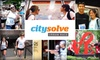 CitySolve Urban Race - Arsenal: $25 for Entry in CitySolve Urban Race San Antonio on Saturday, October 9 ($50 Value)