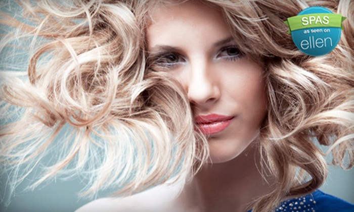 Perfect Image Salon - Plainwell: Haircut and Deep-Conditioning Treatment, Haircut and Color or Partial Highlight, or Spa Mani-Pedi at Perfect Image Salon
