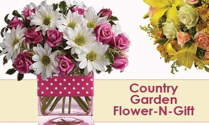 Country Garden Flower-N-Gift - Emerson: $15 for $30 Worth of Floral Arrangements and More at Country Garden Flower-N-Gift