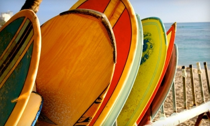 Cleanline Surf Shop - Multiple Locations: $20 for One-Day Surfboard, Skim Board, or Boogie Board, Plus Gear, Rental from Cleanline Surf Shop (Up to $45 Value)