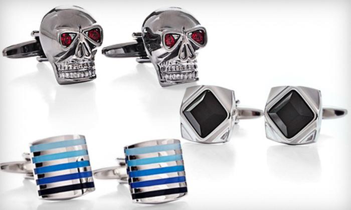 Cuffwear: $25 for $65 Worth of Cufflinks from Cuffwear