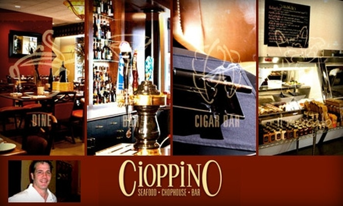 Cioppino - Strip District: $25 for $50 Worth of Steak, Seafood, and Drinks at Cioppino