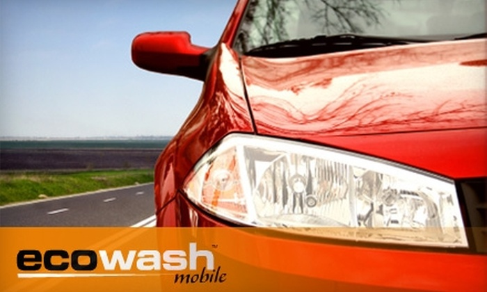 Ecowash Mobile - Haddonfield: $40 for an Eco-Friendly Exterior Car Detail