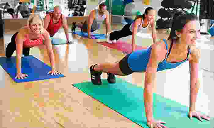 Lit Fitness - Kingsridge Shopping Center: 16-Day Slim-Down Package or One or Two Months of Boot Camp at Lit Fitness (Up to 81% Off)