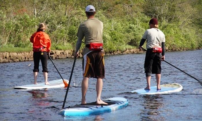 Osprey Sea Kayak Adventures - Westport: $25 for a Two-Hour Intro-to-Standup-Paddleboarding Class from Osprey Sea Kayak Adventures ($55 Value)