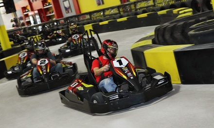 One, Two, or Three Same-Day Go-Kart Races at Pole Position Raceway (Up to 36% Off)