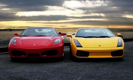 Rij zelf in een Porsche, Ferrari of Lamborghini of in allemaal bij Ferrari Wens