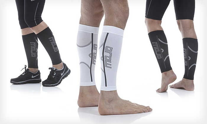MoJo Elite Running Calf Compression Sleeves: $24.99 for 1 Pair of MoJo Elite Running Calf Compression Sleeves ($45 List Price). Multiple Colors. Free Shipping.