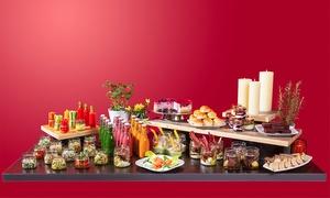 """Cafe Restaurant Lingner: """"Gläsernes Buffet"""" für 2 oder 4 Personen im Cafe Restaurant Lingner (bis zu 31% sparen*)"""