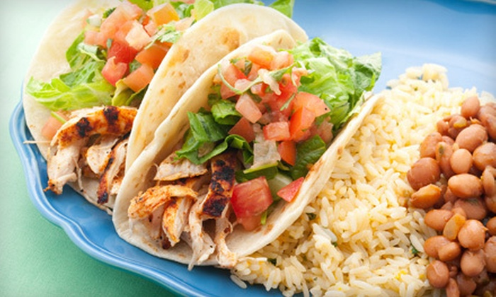Costa Vida - Bluffmont Estates Condominiums: $10 for $20 Worth of Mexican Food at Costa Vida