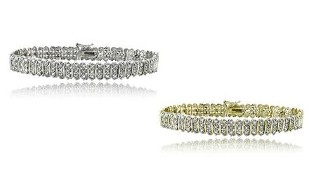 1-Carat TW Diamond Tennis Bracelet