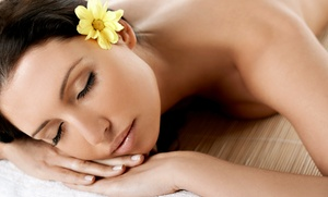 the Baah Spa: $55 for a Signature Massage and Facial Rejuvenation at the Baah Spa ($110 Value)