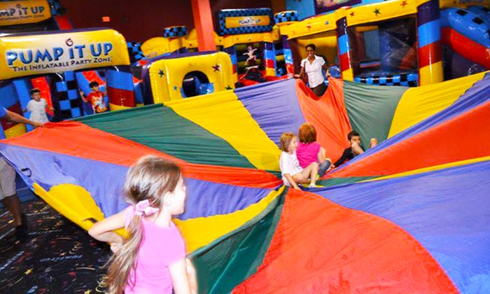 Jump Jam n Party - Mears Commercial Park: $20 for Five Kids' Bounce-House Visits at Jump Jam n Party ($40 Value)