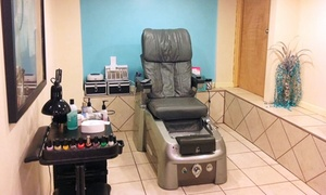 Style FX Salon & Tanning: One or Three Shellac or Gel Manicures or Regular Mani-Pedis at Style FX Salon & Tanning (Up to 52% Off)