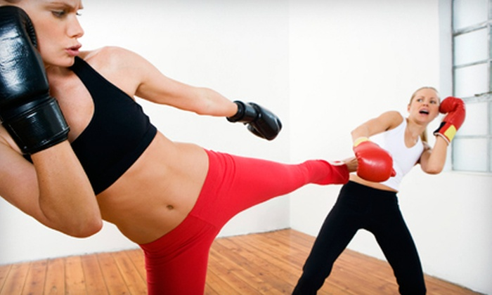 Irvine Martial Arts and Fitness - Irvine Business Complex: 10 or 20 Kickboxing Classes at Irvine Martial Arts and Fitness (Up to 88% Off)