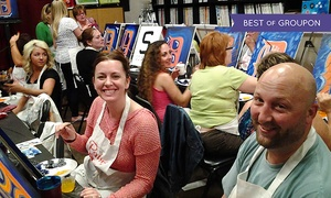 Paint and Pour: $19.99 for Two-Hour BYOB Painting Class for One at Paint and Pour Brighton ($35 Value)