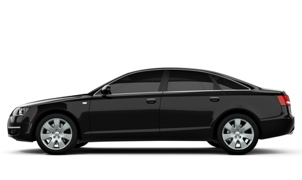 Full- or Half-Vehicle Window Tinting at New Wave Sound (Up to 51% Off). Three Options Available.