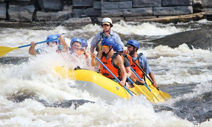 A.R.O. Adventures - Multiple Locations: $119 for Whitewater Rafting for Two on Black River or Hudson River with Lunch from A.R.O. Adventures (Up to $210 Value)