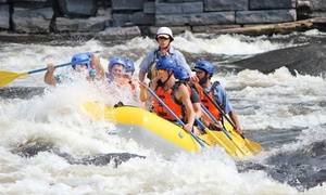 A.R.O. Adventures: C$119 for Whitewater Rafting for Two on Black River or Hudson River with Lunch from A.R.O. Adventures (Up to C$210 Value)
