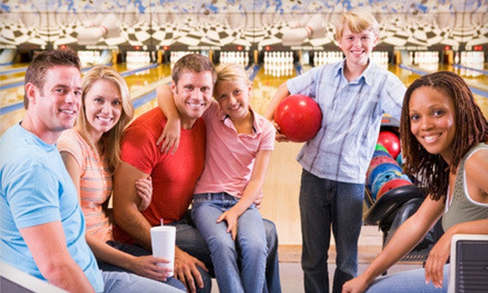Maple Family Centers - Multiple Locations: Bowling Night for One, Two, or Four at Maple Family Centers (Up to 65% Off)