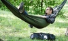 Tribe Provisions Ultimate Compact Single-Person Adventure Hammock: Tribe Provisions Ultimate Compact Single-Person Adventure Hammock