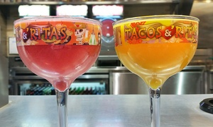 Tacos N' Ritas: $19 for Two 44-Ounce Margaritas in Souvenir Cups at Tacos N' Ritas ($56 Value)