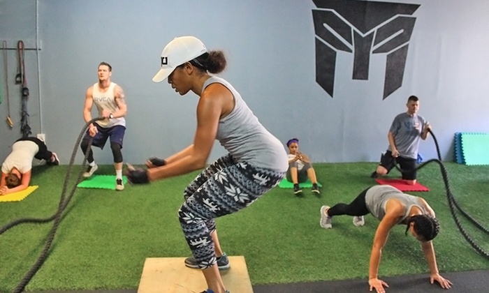 FTF Training Center - Carson: 10 or 20 Fitness Classes, or One Month of Unlimited Classes at FTF Training Center (Up to 76% Off)