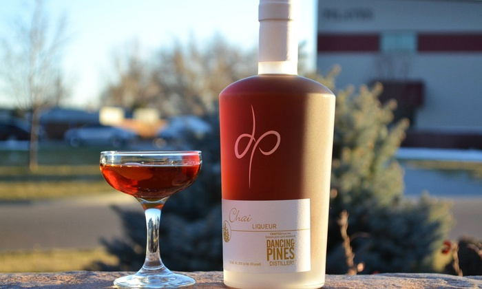 Dancing Pines Distillery - Multiple Locations: Distillery Tour, Cocktails, and Cheese Platter for Two or Four at Dancing Pines Distillery (Up to 46% Off)