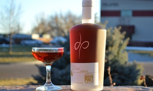 Dancing Pines Distillery: Distillery Tour, Cocktails, and Cheese Platter for Two or Four at Dancing Pines Distillery (Up to 46% Off)