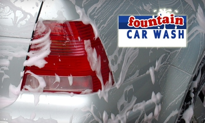 Fountain Car Wash & Lube - Macon: $12 for a Supreme Car Wash at Fountain Car Wash (Up to $27 Value)