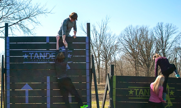 Tandem Obstacle Race - Joliet MX: One Entry to the Tandem Obstacle Race on July 25 or 26 with Options for Course Difficulty. Seven Options Available.