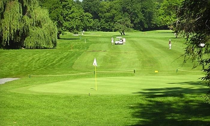 Juniata Golf Club - Juniata Park/ Feltonville: Round of Golf with Cart at Juniata Golf Course. Choose Between Two Options.