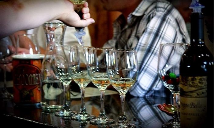 Sorelle Winery - Stockton: $21 for a Wine Tasting with Cheese and Chocolate for Two and Two Bottles of Pinot Grigio at Sorelle Winery