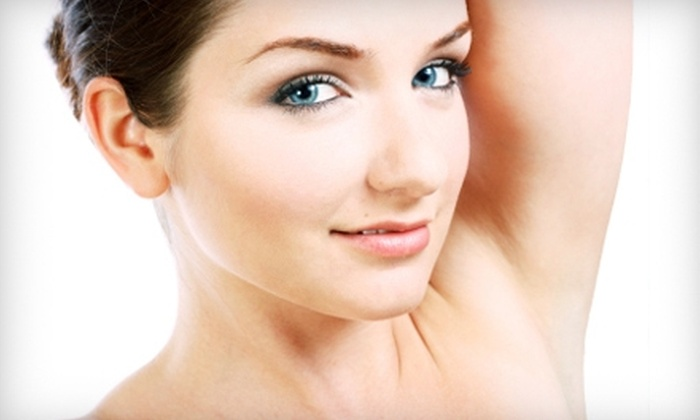 Laserderm Medispa - Shrewsbury: $149 for Three Laser Hair-Removal Treatments (Up to $1,050 Value) or $45 for Your Choice of 60-Minute Facial (Up to $120 Value) at Laserderm Medispa in Shrewsbury