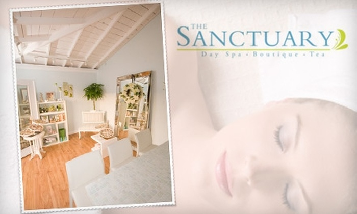 The Sanctuary Day Spa - Point Loma Heights: $45 for a Detox Package at The Sanctuary Day Spa ($180 Value)
