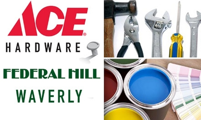 Ace Hardware - SBIC/ West Federal Hill: $10 for $20 Worth of Anything You Need at Ace Hardware