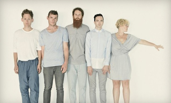 Architecture in Helsinki - Western Addition: One Ticket to See Architecture in Helsinki at The Fillmore on November 3 at 8 p.m. Plus After-Show Meet-and-Greet (Up to $49 Value)