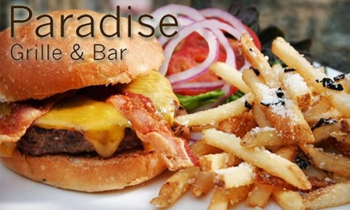 Paradise Grille - North City: $12 for $25 Worth of Gourmet Fare at Paradise Grille