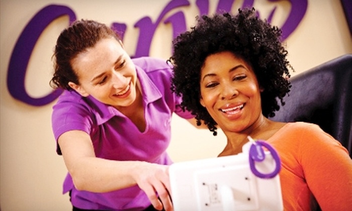 Curves - Multiple Locations: One-Month Membership to Curves. Seven Locations Available.