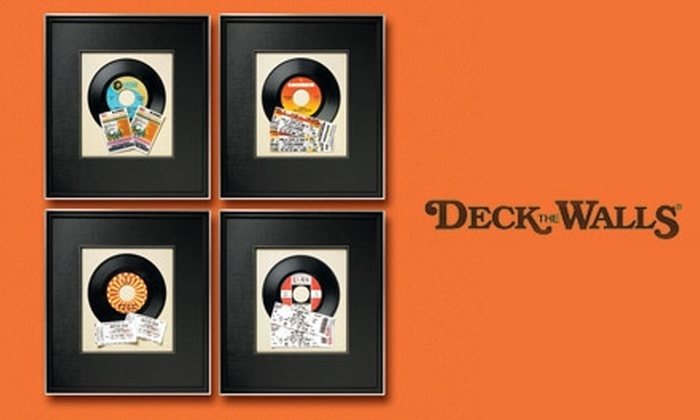 Deck The Walls Austin - West Lake Hills: $45 for $100 Worth of Custom Framing at Deck The Walls