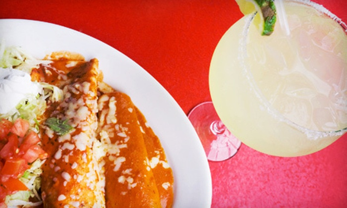 Las Brisas Mexican Restaurant - Vernor: Meal with Entrees, Guacamole, and Cocktails for Two or Four at Las Brisas Mexican Restaurant (Up to 56% Off)