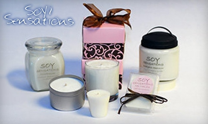 Soy Sensations - Central Business District: $10 for $20 Worth of Candles from Soy Sensations