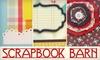 Scrapbook Barn, LLC - Val Vista Lakes: $12 for Scrapbooking Kit at Scrapbook Barn in Gilbert ($27.14 Value)