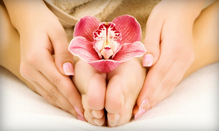 Trevi Nails - Murray Hill: $19 for a Mani-Pedi at Trevi Nails (Up to $39 Value)