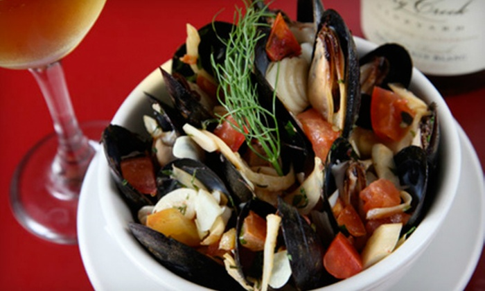 Mojo Tapas Restaurant & Bar - St. Louis: $12 for $25 (or $30 if Redeemed Monday–Wednesday) Worth of Tapas and Drinks at Mojo Tapas Restaurant & Bar